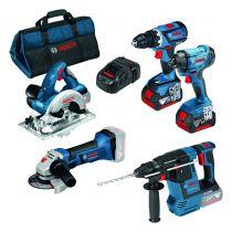 Kit 5 outils 18 V-Li - 5.0 A