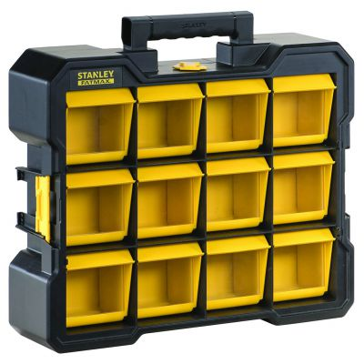 Stanley 12 cases basculables