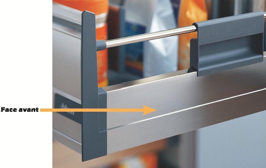 Kit Tandembox hauteur D : 224 mm