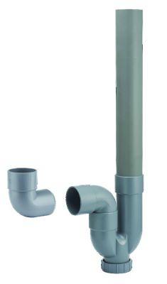 Siphon simple sortie horizontale et verticale