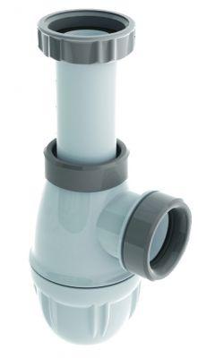 Siphon de lavabo plastique
