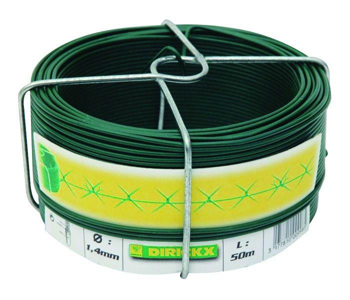 Accessoires de pose pour grillage - acier galvanisé plastifié vert