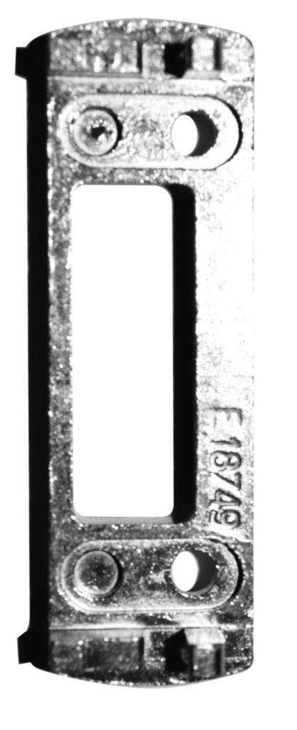 Gâches pour pêne 1/2 tour - PVC