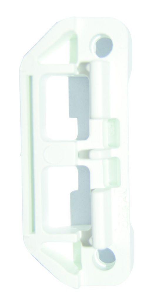 Gâches pour tringle PVC