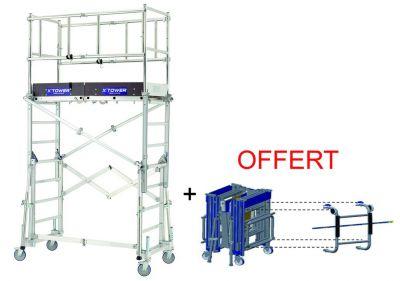 Echafaudage X'tower + kit embarquement offert