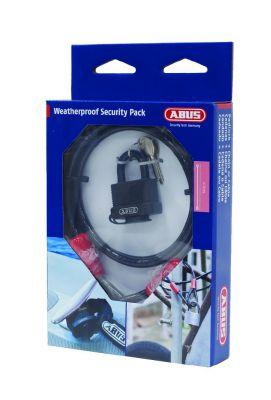 Pack sécurité cadenas + câble