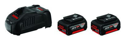Pack 2 batteries Li-ion 18 V 5 Ah + chargeur