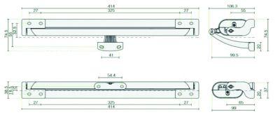 Boîtier à chaîne liwin L35 - double