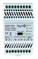 Module chargeur rail DIN - pour alimentation série PSDX en 12 et 24 V