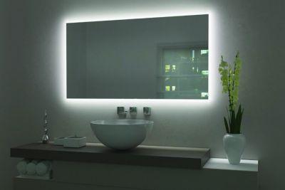 Profil alu pour miroir mural éclairant