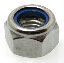 Ecrou héxagonal frein - inox A2 - DIN 985