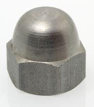 Ecrou borgne décoletté - inox A1 - NFE 27453