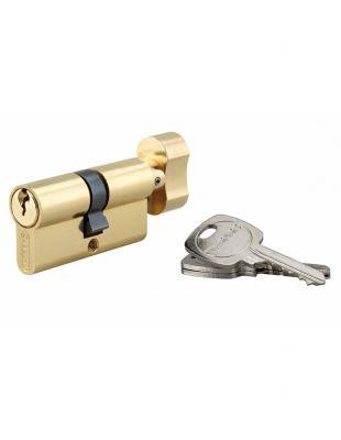 Cylindre à bouton HG - laiton poli