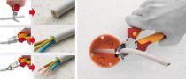 Pince coupante diagonale TriCut Professional electric isolée 1000 volts