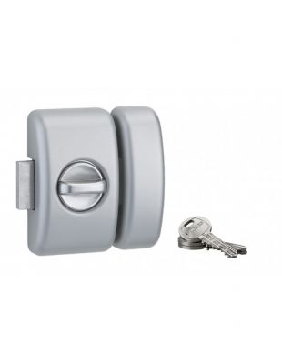 Verrou de haute sûreté universel 5 goupilles - Clé plate - 3 clés