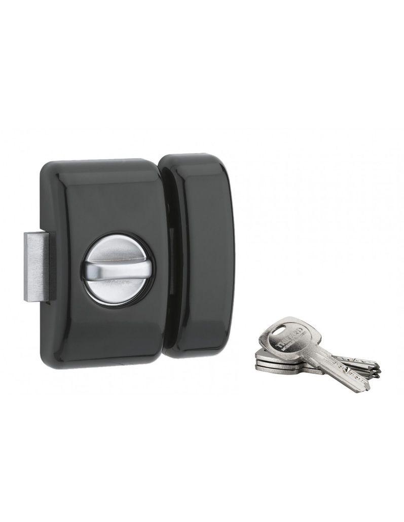 Verrou de haute sûreté Universel Trafic 6 - Clé plate réversible - 4 clés - carte de propriété