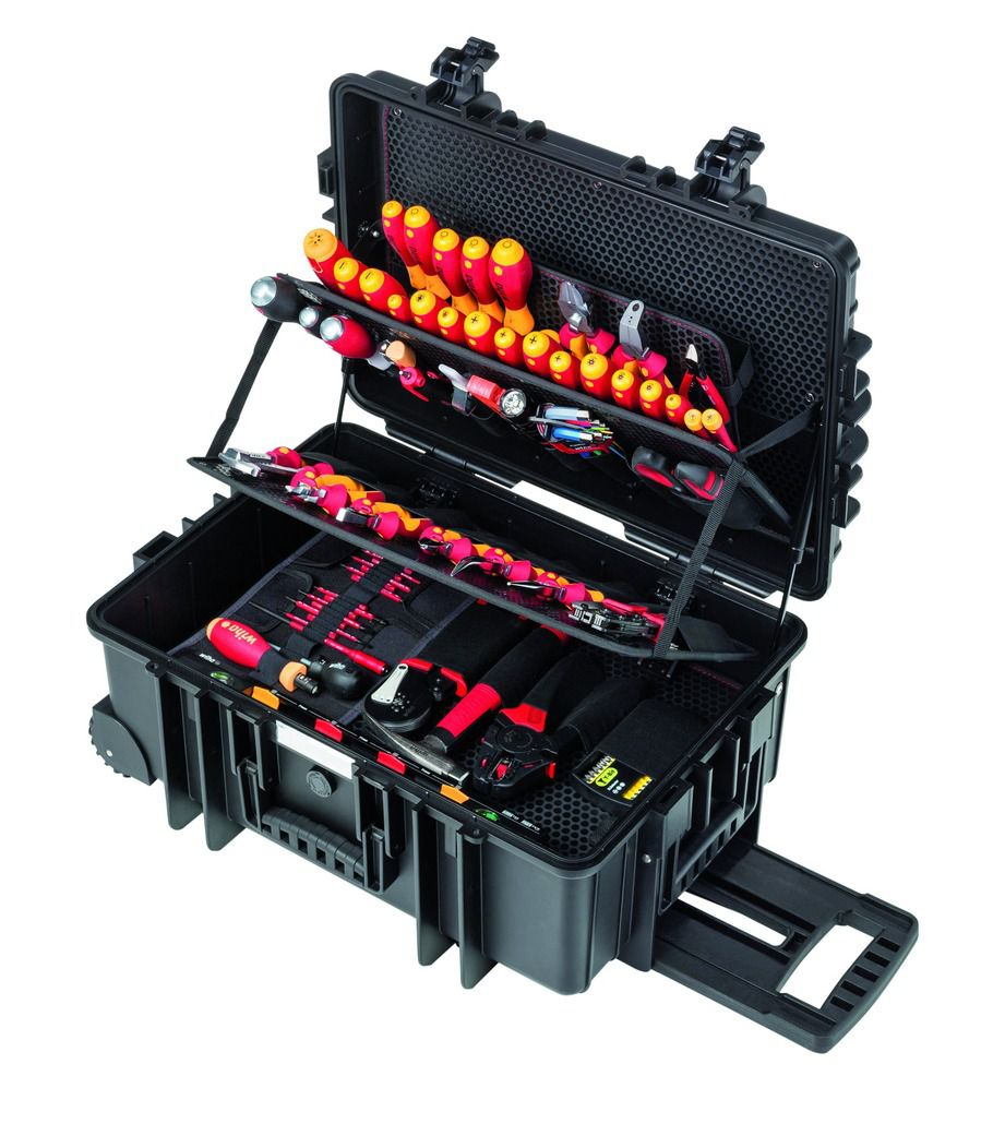 Trolley 115 outils électricien XXL II