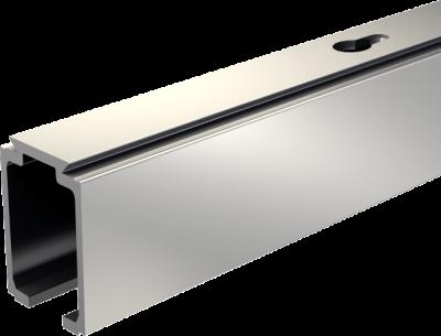 Ferrure de porte coulissante bois rail alu pour SAF 40 et 80 kg