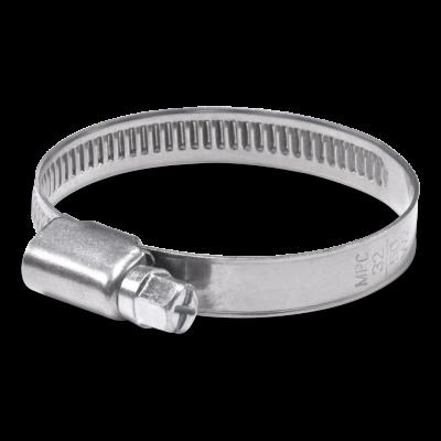 Colliers à bande pleine 9 mm - W1 - acier galvanisé