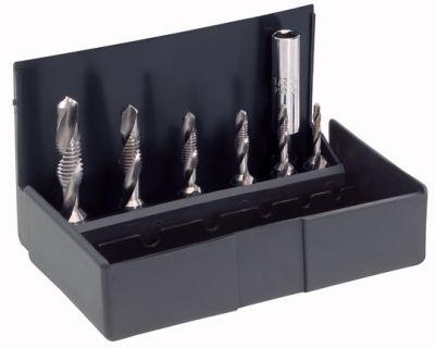 Coffret tarauds à main - ø 3 à 10 mm acier HSS