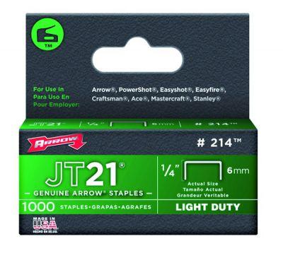 Agrafes pour agrafeuse JT21CM