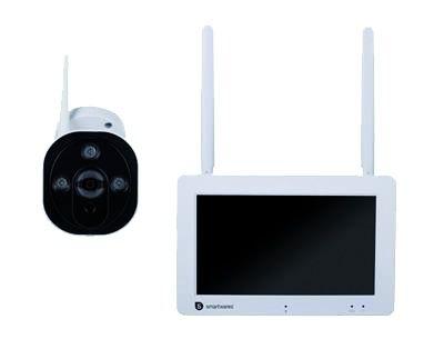 """Kit caméra IP sans fil + écran 7"""""""