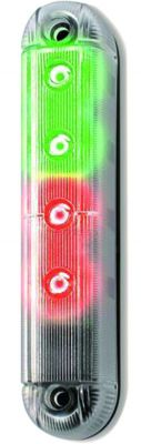 Feu led bicolore rouge-vert - 12 Vca/vcc