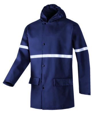 Veste et pantalon de pluie ignifugée et antistatique