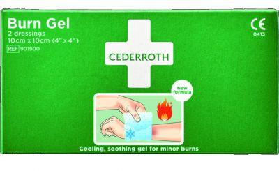 Compresses pour brûlure Cederroth