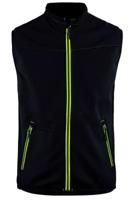 Gilet softshell stretch