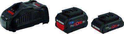 Pack chargeur GAL 1880CV + 2 batteries 18V 5,5 Ah et 4 Ah PROCORE