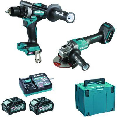 Kit 2 machines 40 V 4Ah