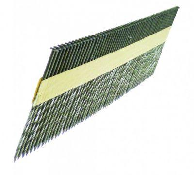 Cloueur à bandes pointes D - têtes plates torsadées - galvanisées - pour Framepro 651