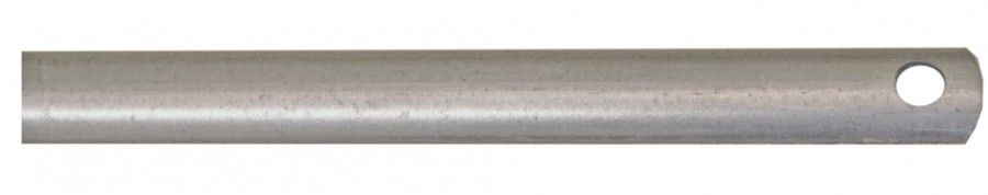 Tringle fer 1/2 rond - 16 x 6 mm