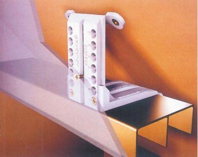 Ferrure de porte coulissante bois inclinofix 904
