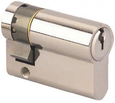 Demi - cylindre HG - nickelé