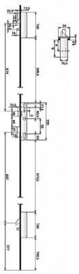 3 points latéraux TF3 avec têtière isolée