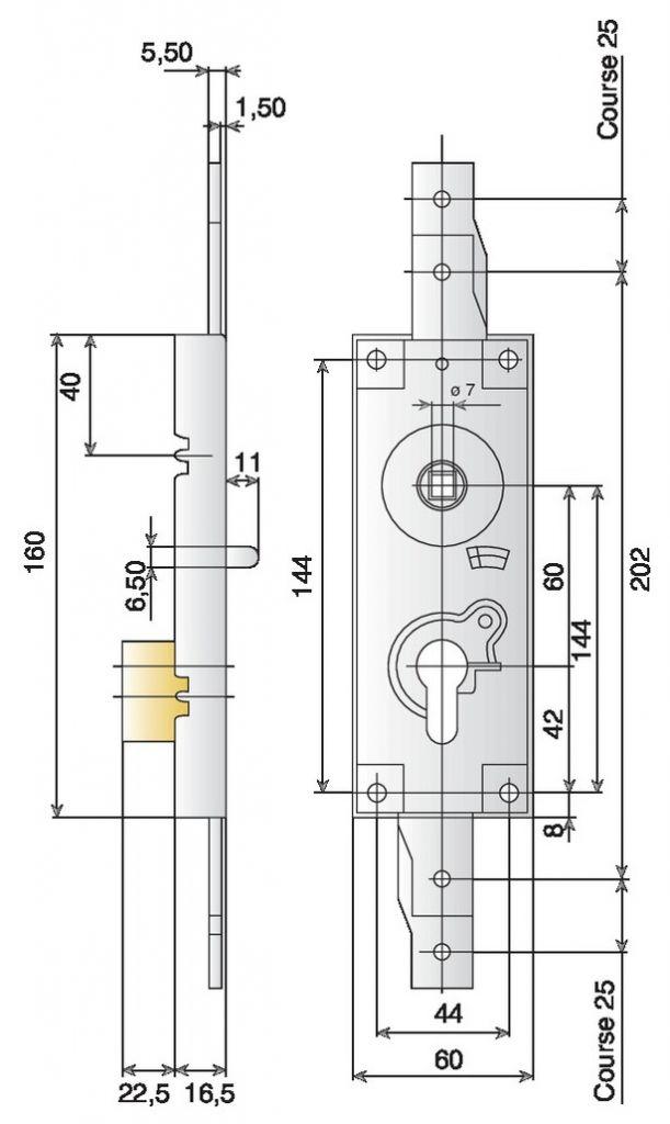 A cylindre européen
