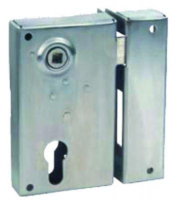 A cylindre européen verticale à fouillot inox - Carré de 7 mm