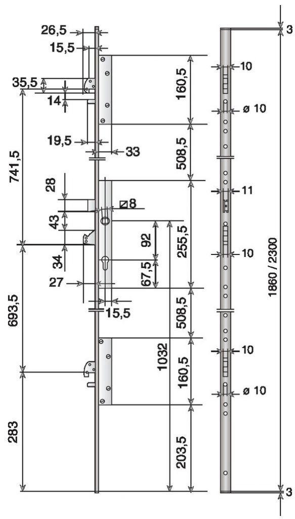 a larder is o multiblindo 3 points crochets. Black Bedroom Furniture Sets. Home Design Ideas
