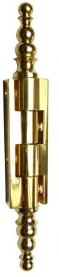 A vase - broche acier / corps laiton