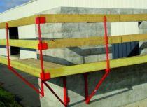Accessoires pour échafaudages console de façade classique