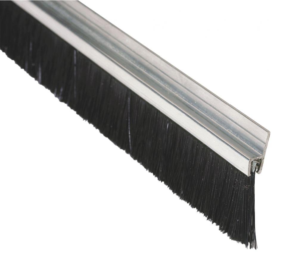 plinthe anti vent fixe aluminium brosse. Black Bedroom Furniture Sets. Home Design Ideas