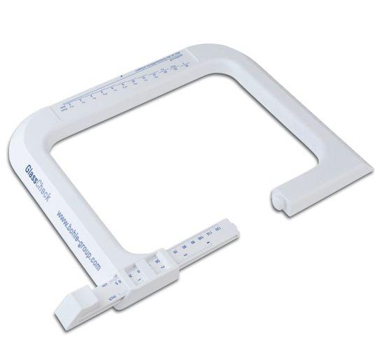 Appareil de mesure en plastique - glasscheck
