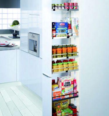 Agencement de cuisine armoire coulissante dispensa swing for Agencement cuisine tarifs