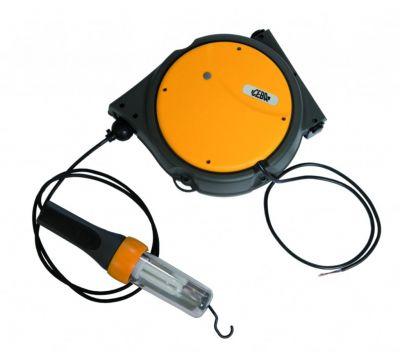 Baladeuses sur enrouleur à rappel automatique