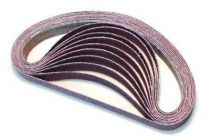 Bandes abrasives - sachet de 10 bandes 20 x 520 mm
