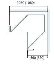Blum Tandembox - Space Corner