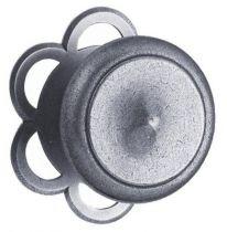 Bouton de porte ø 75 mm avec rosace fixe