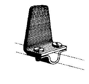 Butée pour arrêt - pour fer rond de 10 mm
